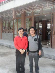 与洛阳书协主席王鸣先生