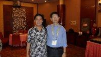 与龙门画院院长闫志忠先生
