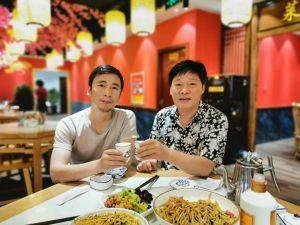 与七贤画家陈怀领先生