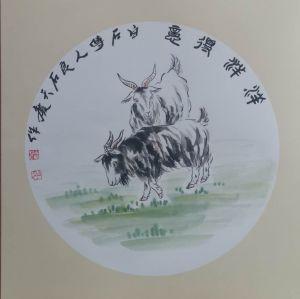 武天庆国画作品